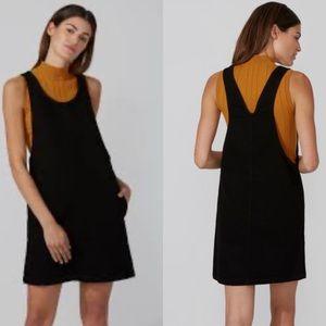 Frank & oak denim romper dress with pockets!